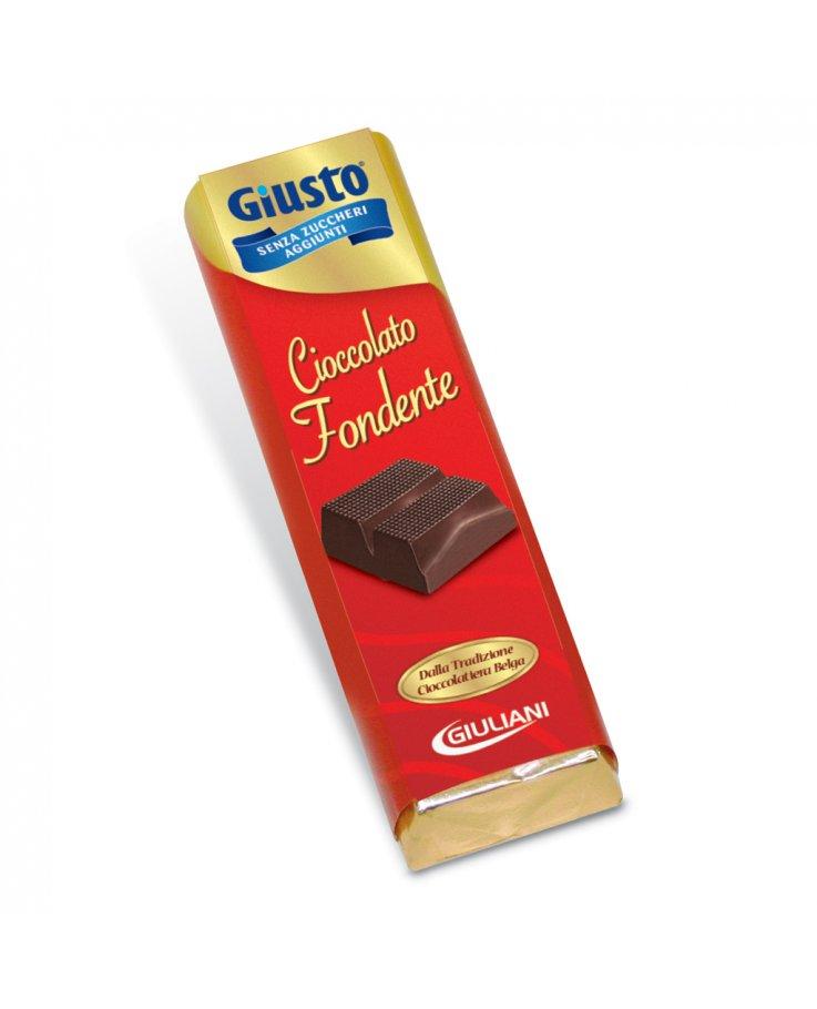 Giusto Senza Zucchero Cioccolato Fondente 42g