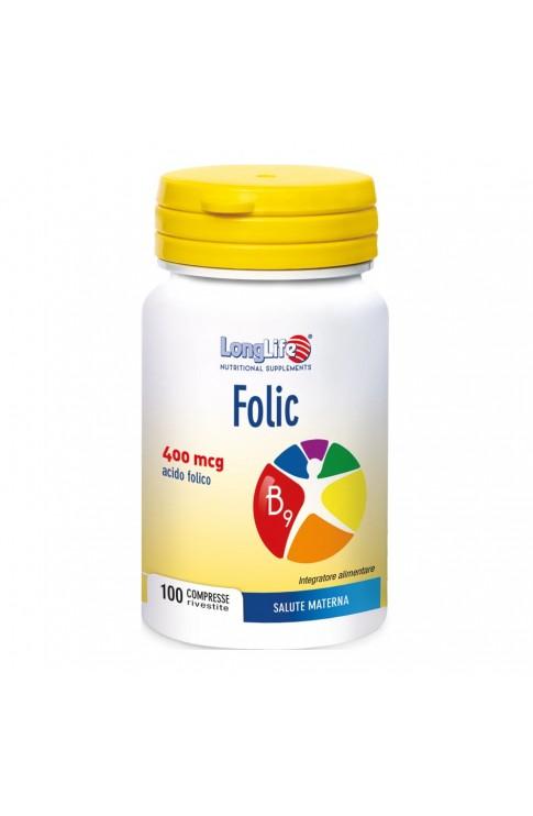 Longlife Folic 100 Compresse 400mcg