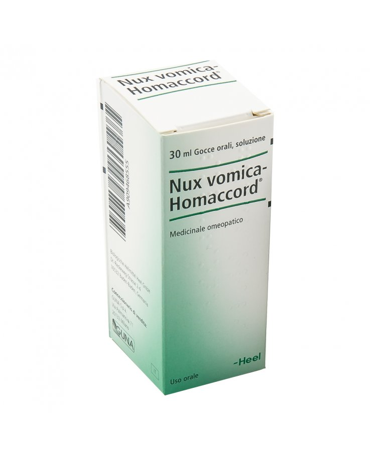 Nux Vomica Homaccord 30ml Gocce Heel