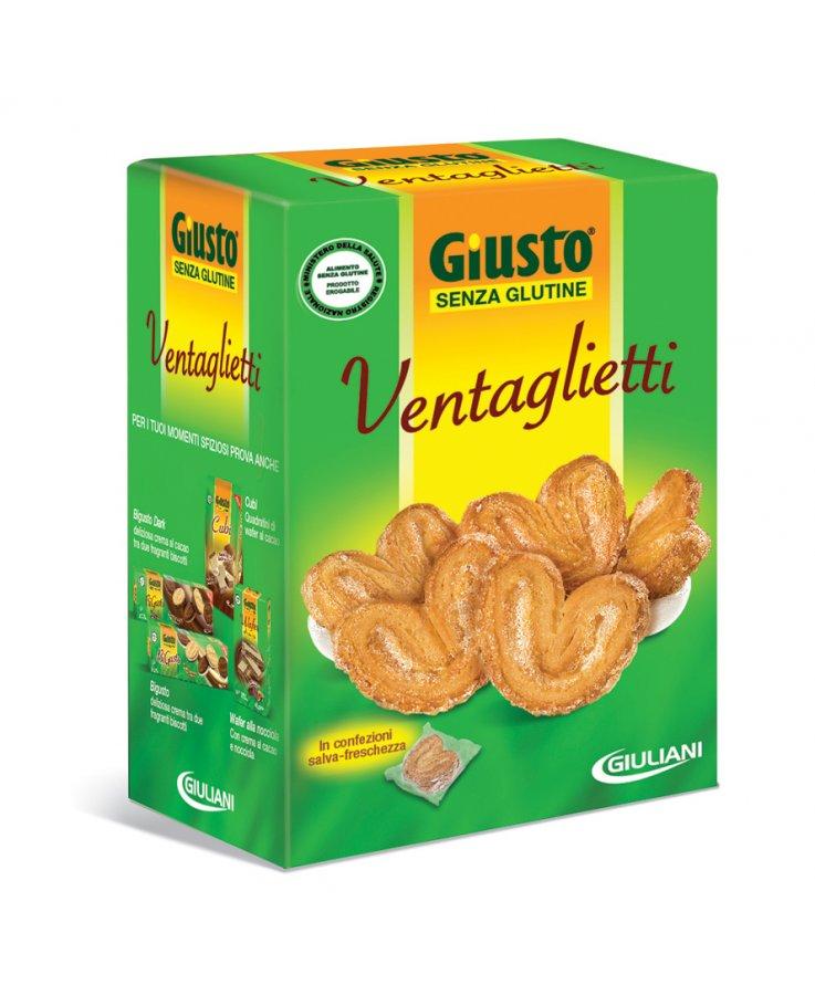 Giusto Senza Glutine Biscotti Ventaglietti