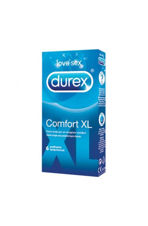 Durex Comfort Extra L 6 Pezzi