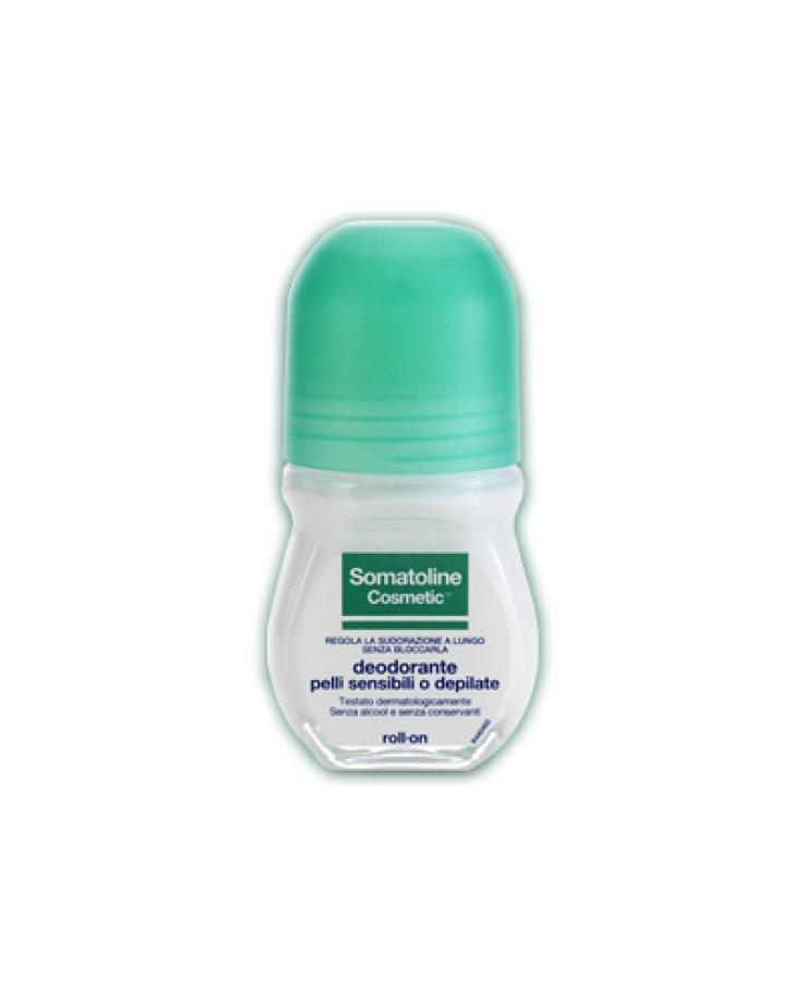 Somatoline Cosmetic Deodorante Pelli Intolleranti Roll
