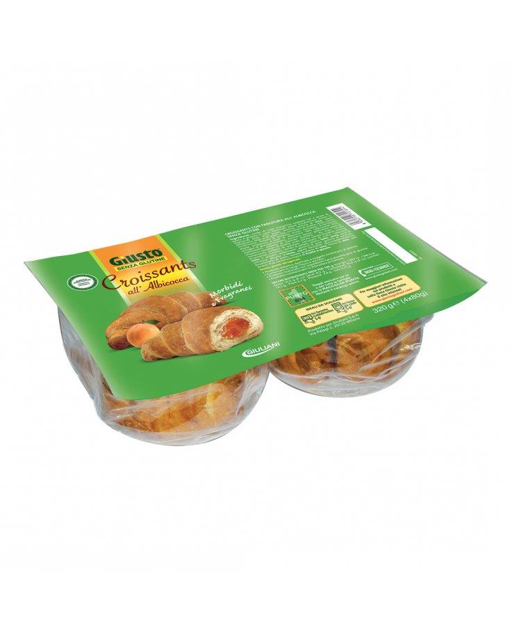 Giusto Senza Glutine Croissant Albicocca 320g