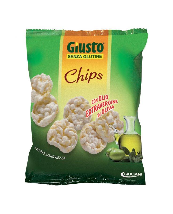 Giusto Senza Glutine Chips Olio Extravergine