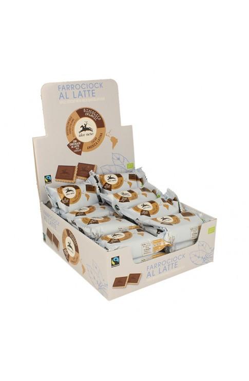 ALCE Biscotti Farro Cioccolato Latte Bio