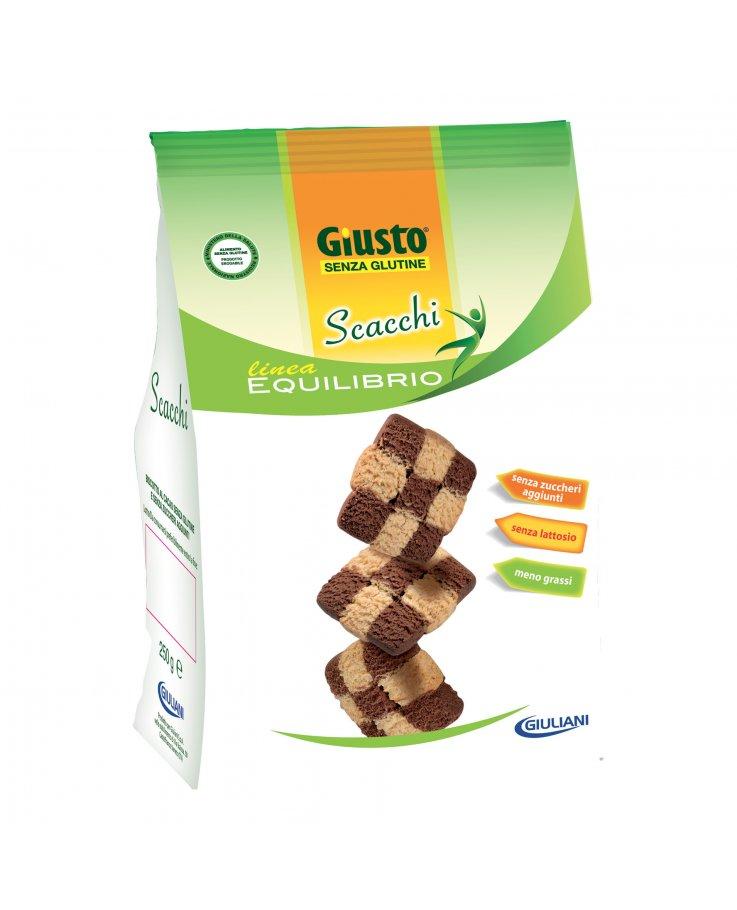 Giusto Senza Glutine Biscotti Scacchi