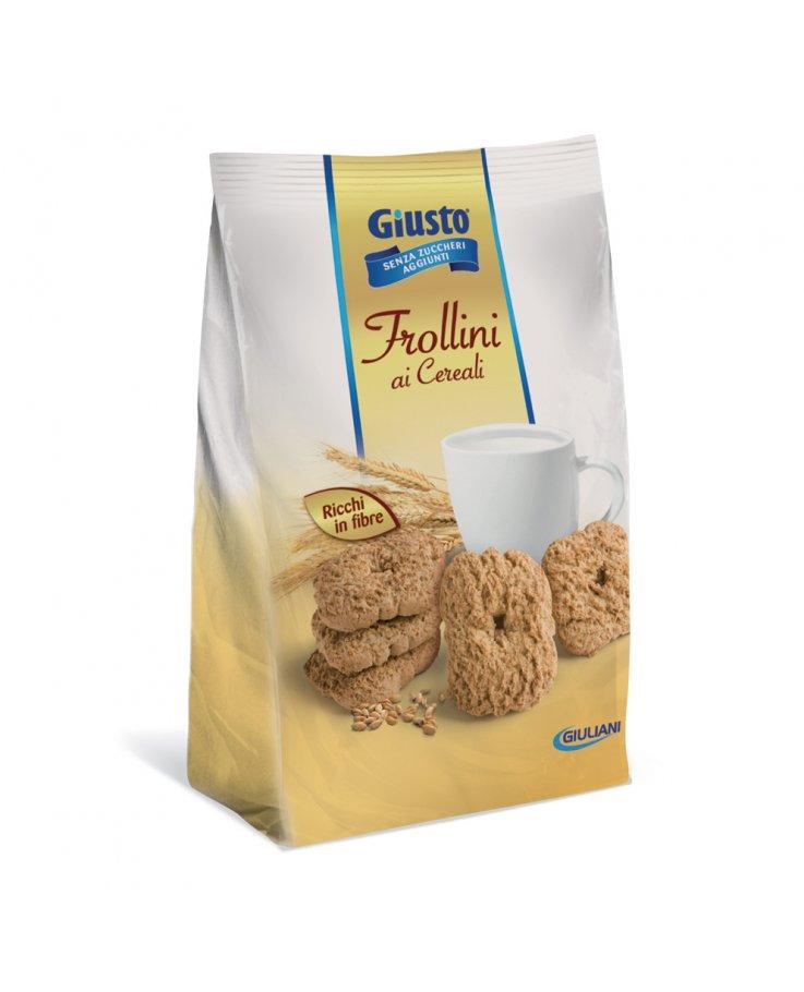 Giusto Senza Zucchero Biscotti Frollini Cereali