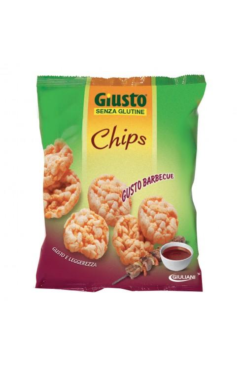 Giusto Senza Glutine Chips Barbecue 30g