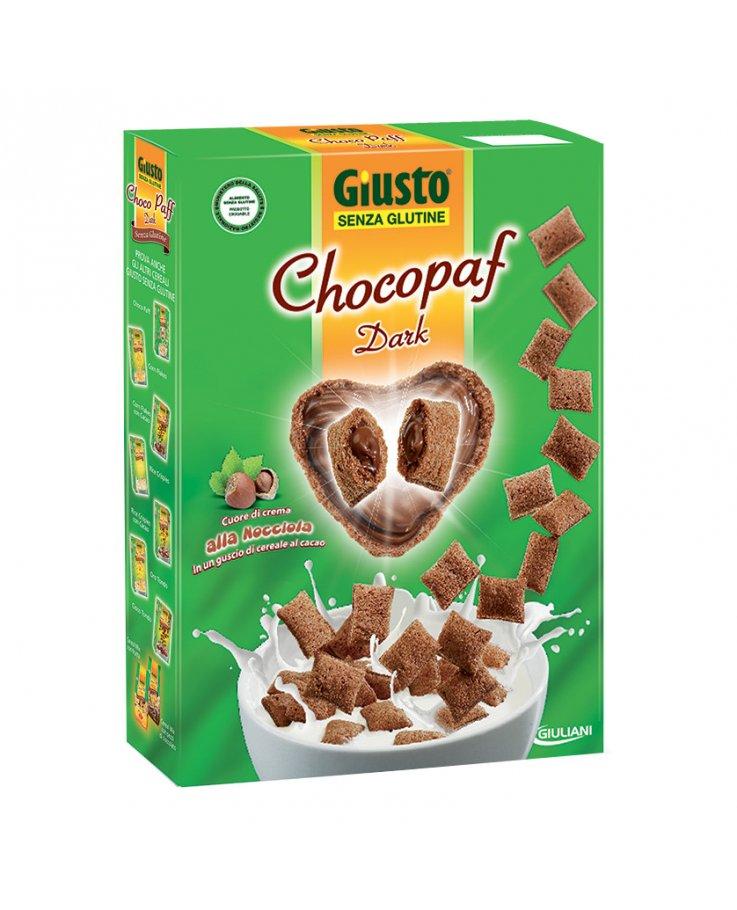 Giusto Senza Glutine Chocopaf Dark 300g