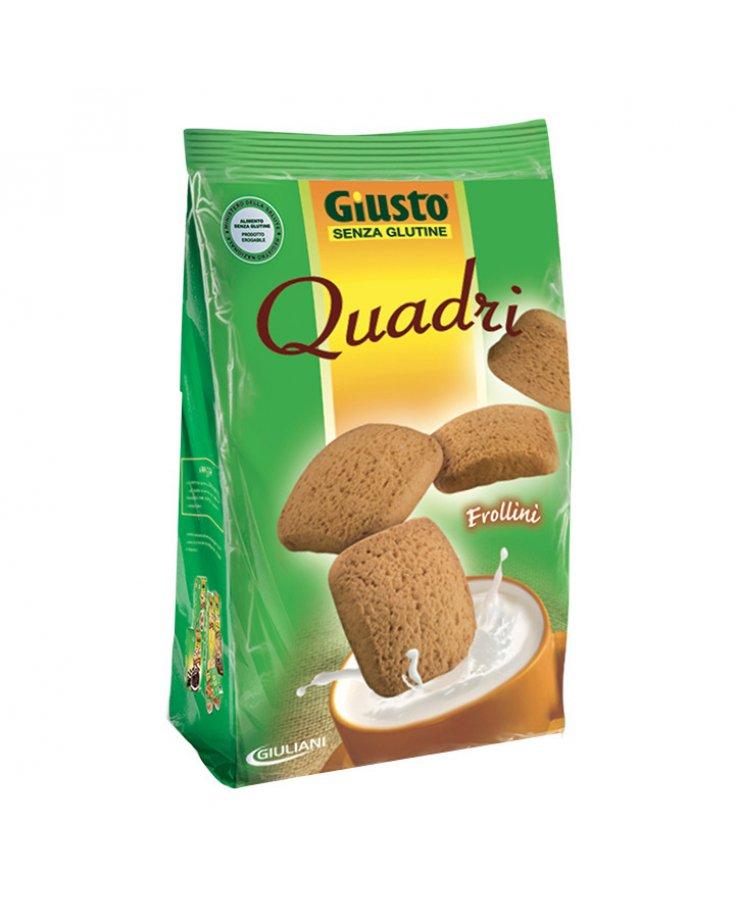 Giusto Senza Glutine Quadri Frollini 200g
