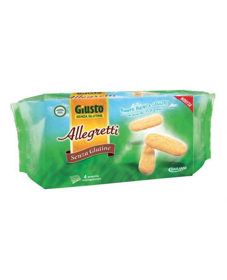 Giusto Senza Glutine Allegretti 200g