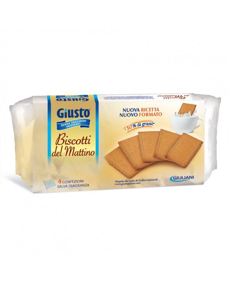 Giusto Senza Zucchero Biscotti Mattino 350g