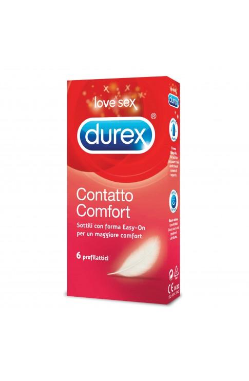 Durex Contatto Easy-On 6 Profilattici