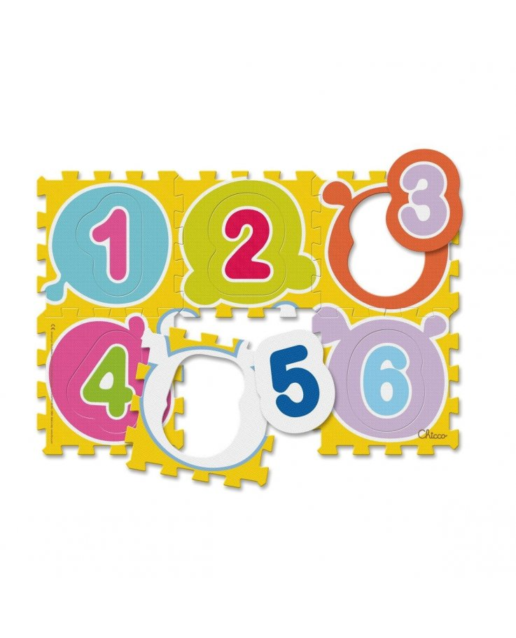CHICCO First Numbers Puzzle