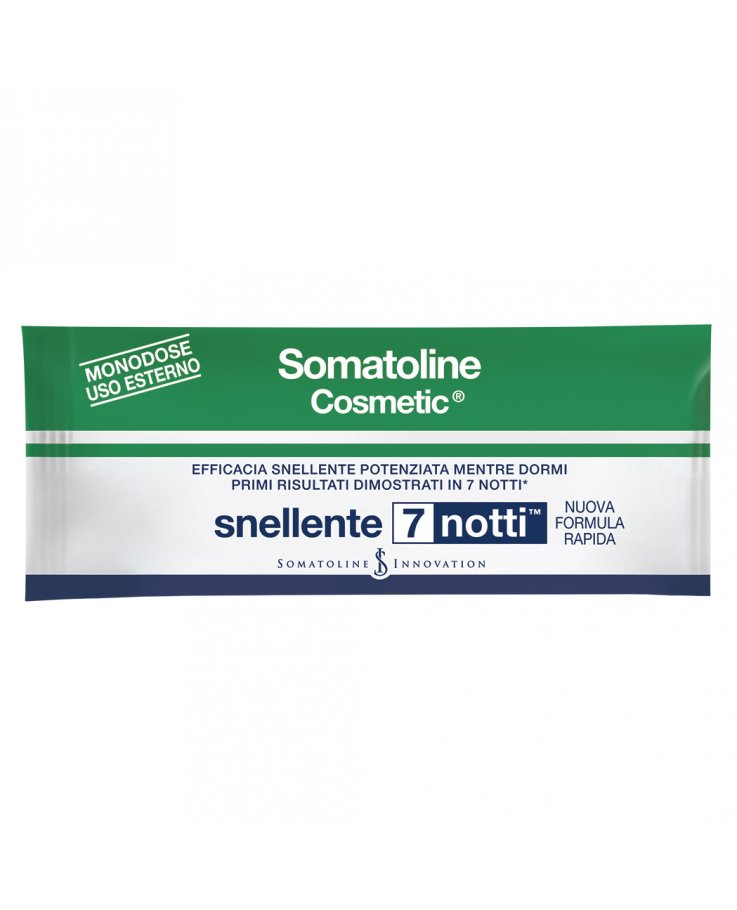 Somatoline Cosmetic Snelllente 7 notti bustine