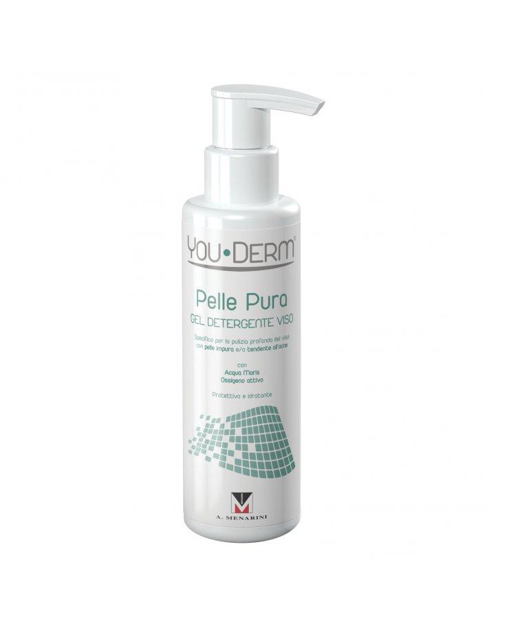 You-Derm Pelle Pura Gel Detergente Viso 200ml