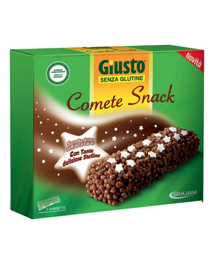Giusto Senza Glutine Comete Snack 120g