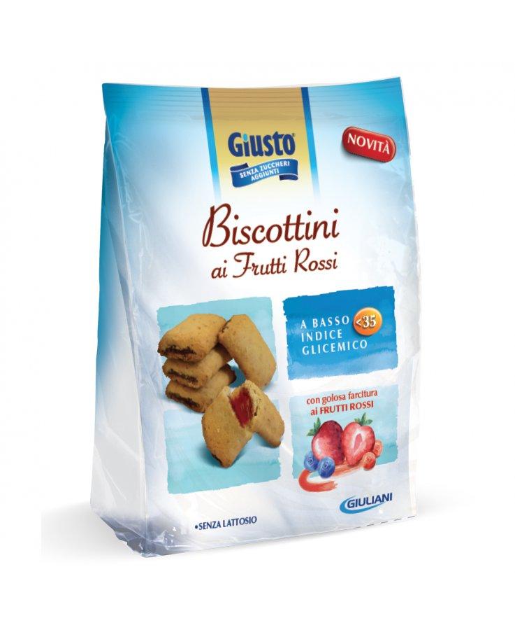 Giusto Senza Zucchero Biscotti Frutti Rossi
