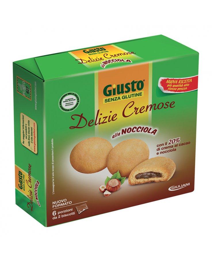 Giusto Senza Glutine Delizie Cremose Cacao Nocciola 180g
