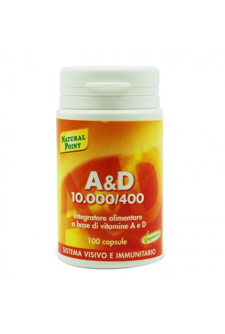 A&D 10000/400 100 Capsule