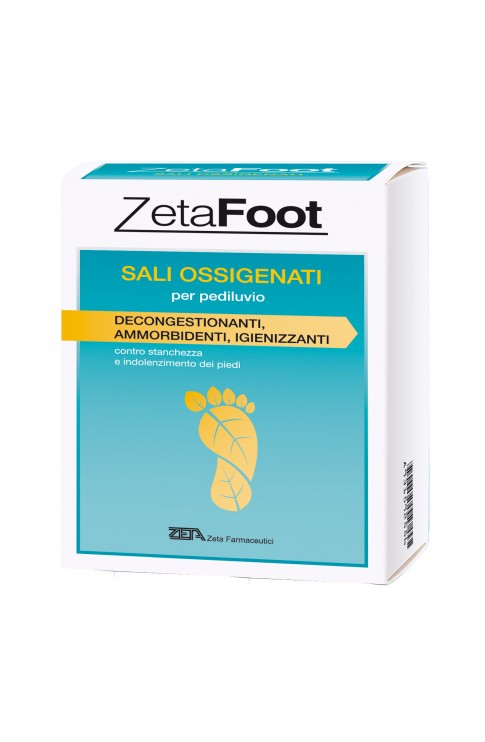 ZetaFoot Sali-Ossigenati 10 Bustine 20g