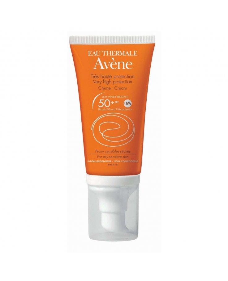 AVENE Solare Crema 50 + Senza Profumo 50 ml