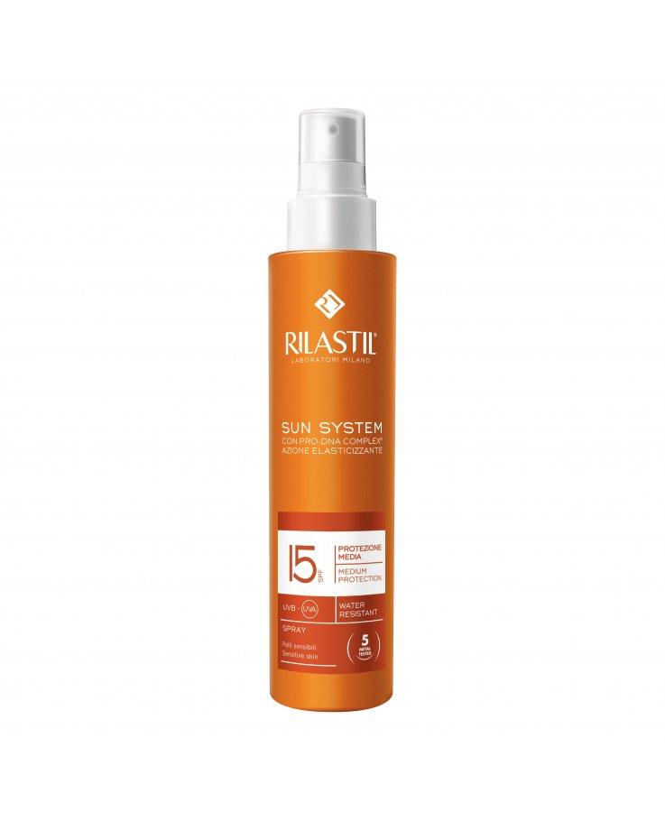 Rilastil Sun System Protezione Media 15 Spray