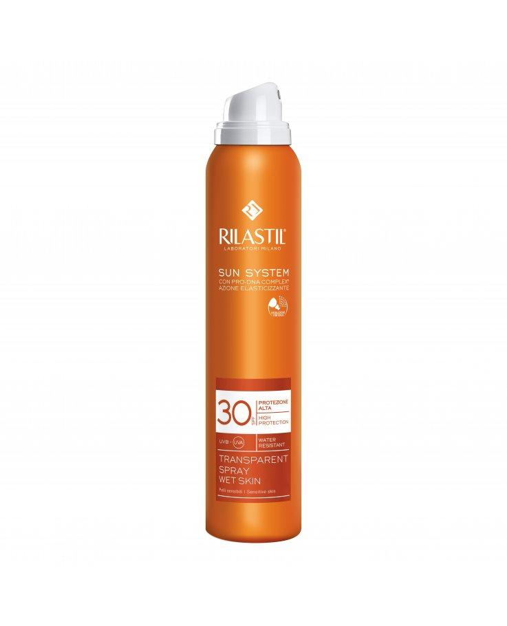 Rilastil Sun System Protezione Alta 30 Transparent Spray