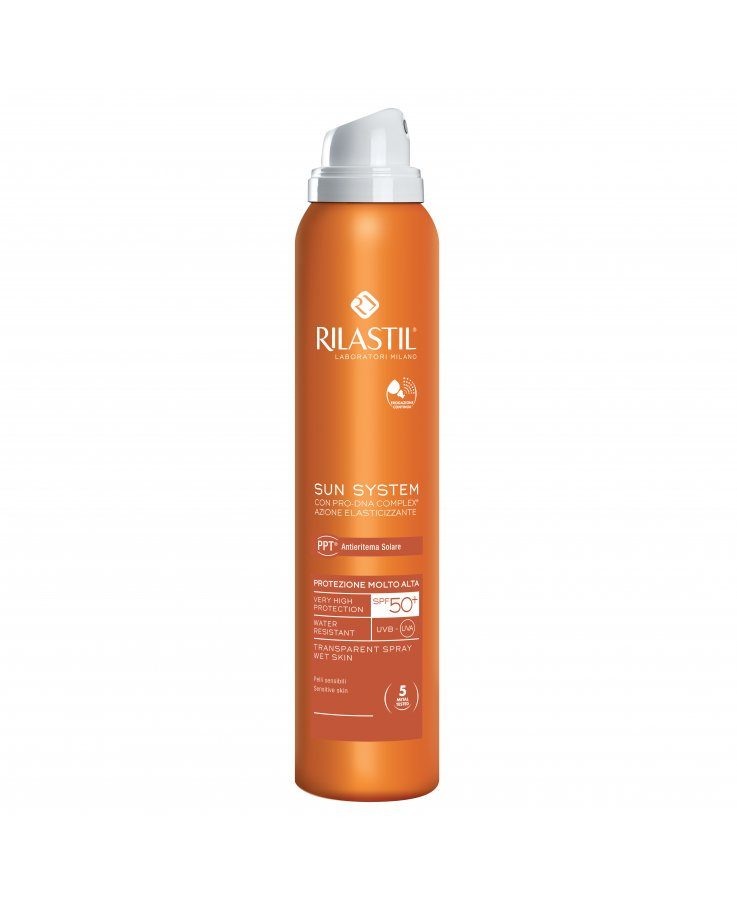 Rilastil Sun System Ppt 50+ Trasparent Spray