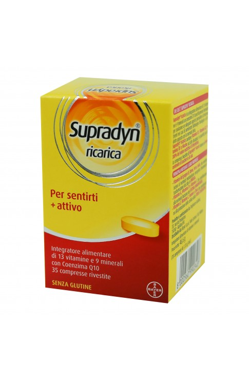 Supradyn Ricarica Integratore Alimentare 35 Compresse Rivestite