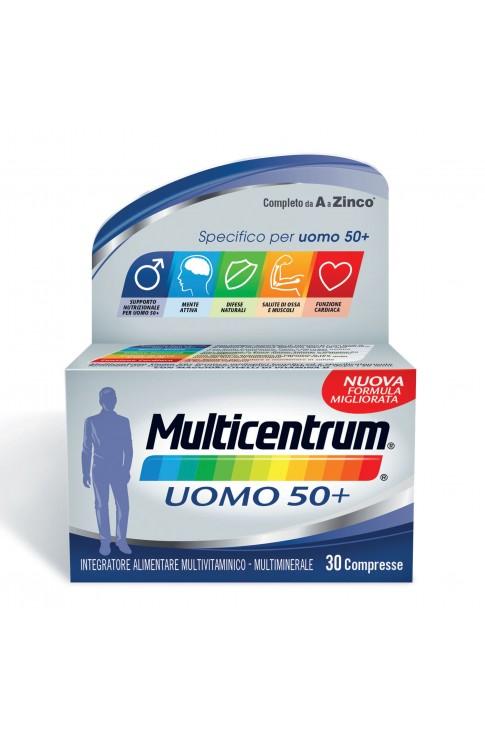 Multicentrum Uomo 50+ Multivitaminico 30 Compresse