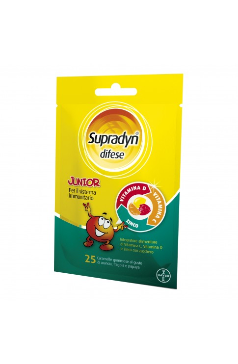 Supradyn Difese Junior 25 Caramelle Gommose