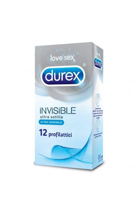 Durex Invisibile 12 Profilattici