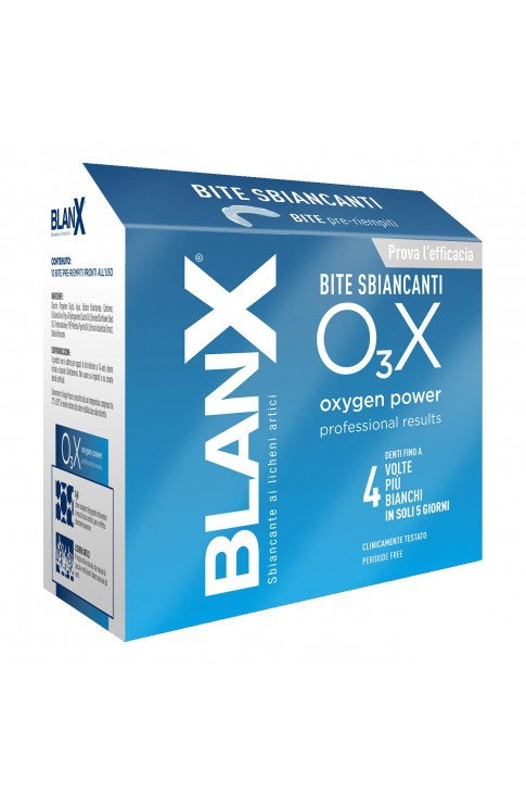 Blanx O3X Bite Sbiancanti 10 Pezzi